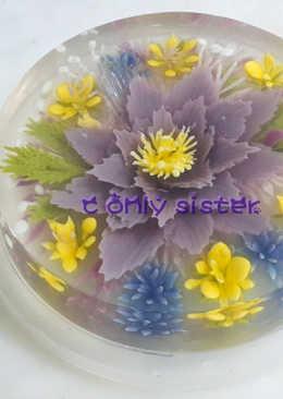 水晶果凍花
