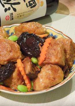 【源釀醬油】紅燒香菇烤麩