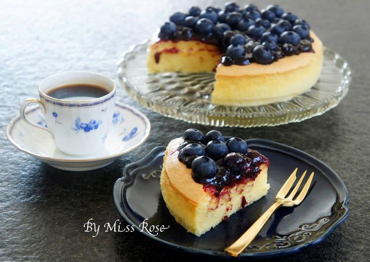日式藍莓起士蛋糕
