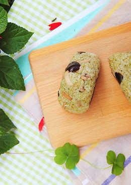 綠野鮮菇三角飯糰