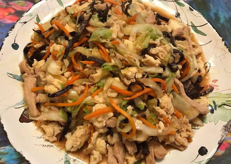 高麗菜炒木須肉