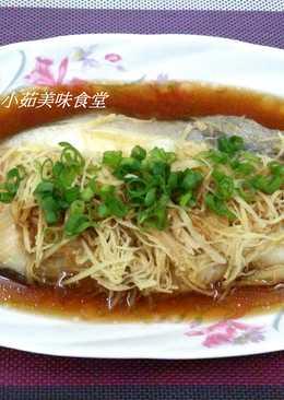 清蒸鱈魚(電鍋料理)