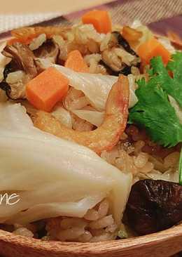 古早味高麗菜飯(電鍋料理)