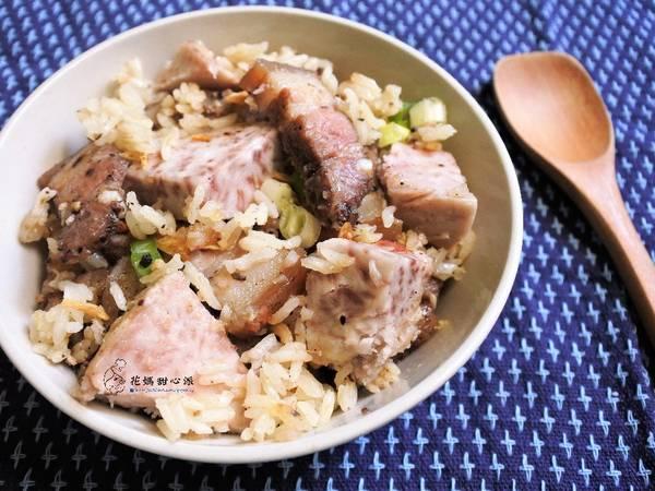 芋香鹹豬肉炊飯(電子鍋版)