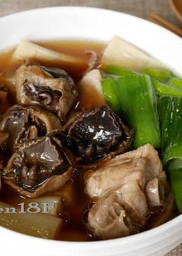 魷魚螺肉蒜_電鍋食譜
