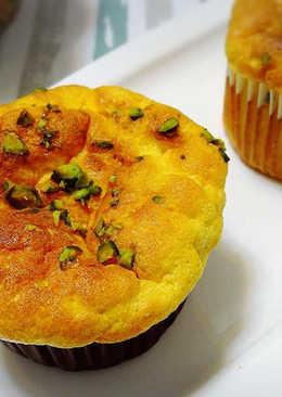 南瓜杯子蛋糕(簡單鬆軟化口版)
