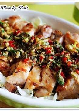 簡易食譜-泰式椒麻雞