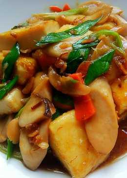 扁魚燒豆腐