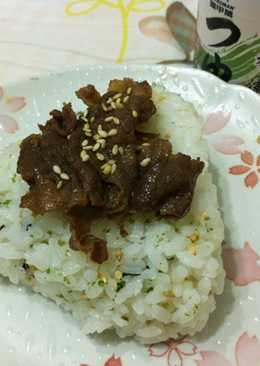 【料亭和露】燒肉飯糰