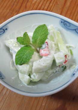 中東式黃瓜優格沙拉