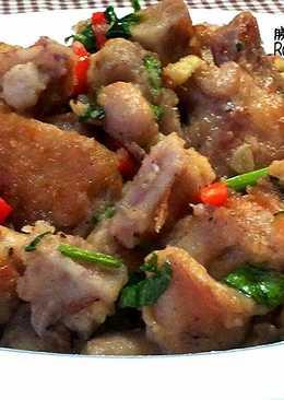 有食候~芋頭xo醬燒雞