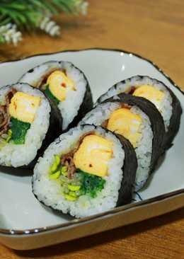 紫菜牛肉飯捲