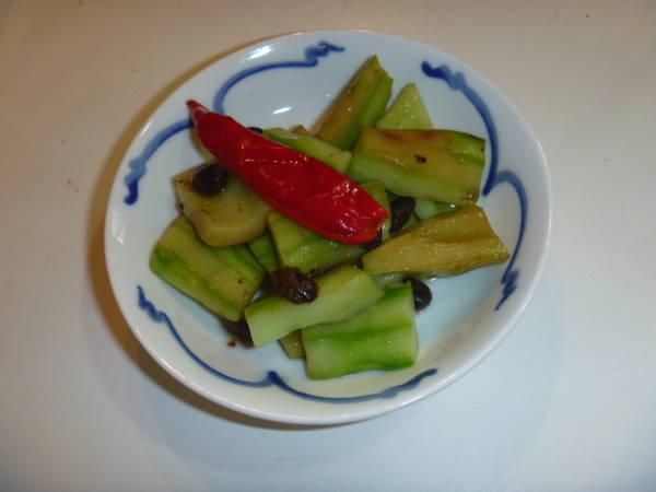 豆豉拌黃瓜