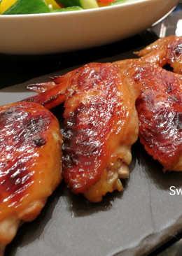 梅醬味噌烤雞翅