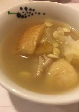雪梨無花果瘦肉湯