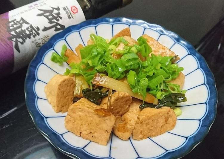 【御釀滷煮入味】蔥燒臭豆腐