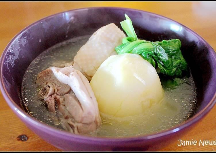 有食候。韓式馬鈴薯燉雞湯