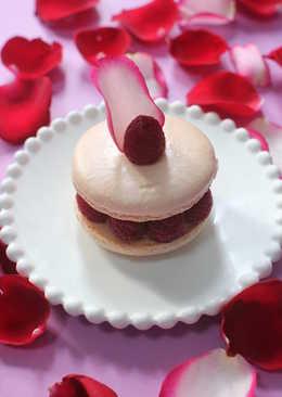 玫瑰荔枝紅莓馬卡龍