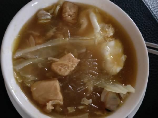 咖喱湯冬粉