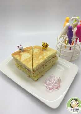 蜂蜜優格乳清薄餅蛋糕