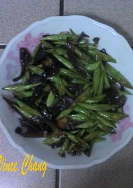 木耳四季豆