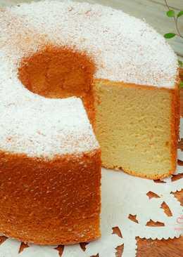 楓糖戚風蛋糕