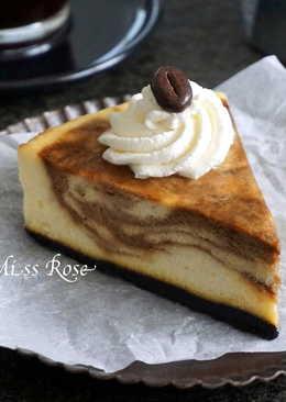 咖啡大理石起士蛋糕