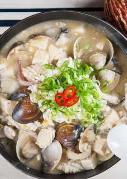 金沙海鮮豆腐煲@美麗人妻Selina Wu