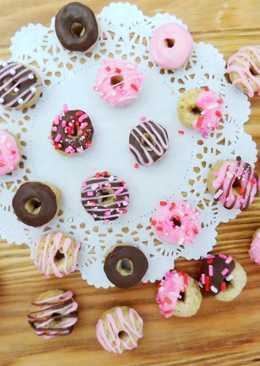 用脆圈圈做迷你甜甜圈
