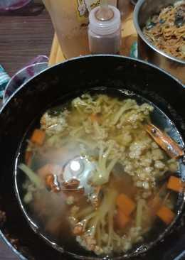 泰式鮮蝦蔬菜鍋