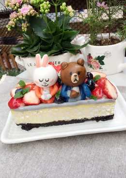 ~來自星星的你~도민준 & 천송이草莓oreo重乳酪(磅蛋糕長條模)