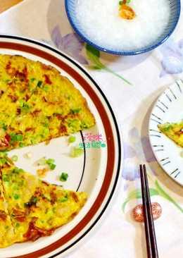 黃金櫻花蝦菜脯蛋