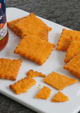 羅勒蕃茄薄脆餅