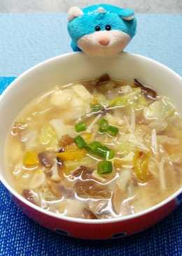 ~酸辣湯~餐桌上的晚餐