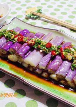 【料亭和露】涼拌紫茄