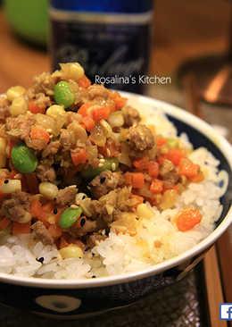 日式咖哩味噌肉燥飯