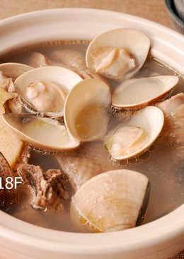 蛤蜊雞湯_電鍋料理 零廚藝