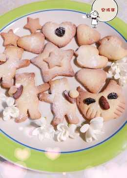 檸檬杏仁造型手工餅乾