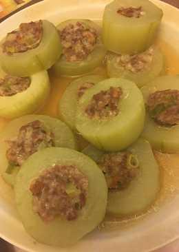 黃瓜鑲肉 Large Cucumber inlaid with Meat