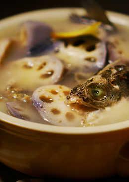 小雪 : 蓮藕鱸魚湯