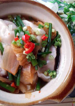 低卡料理~水餃泡菜鍋