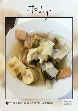桂竹筍控肉