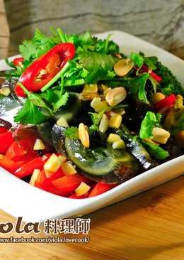 皮蛋涼菜-零廚藝料理