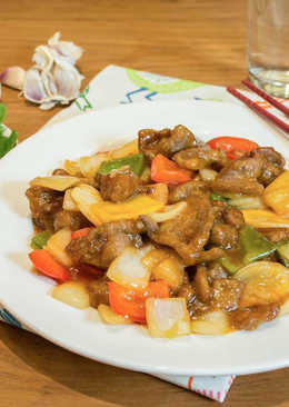 【家樂福廚房】三元糖醋小羊肉