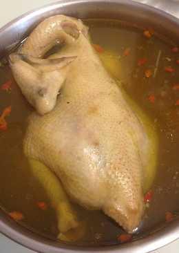 香菇蒜頭雞湯