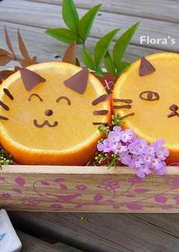 貓咪香橙銀耳凍