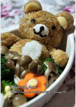 【好菇多多】和風蔬食鮮菇懶懶熊