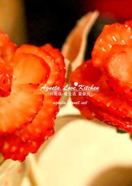 [阿妮塔♥sweet] 草莓玫瑰花。