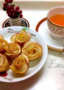 蘋果玫瑰花小甜點