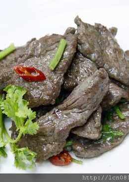 香根黑胡椒牛排片